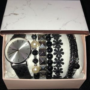New Watch & Bracelet Gift Set